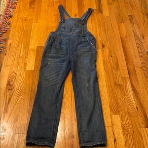 Free People trendy overalls
